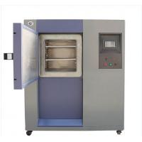 Buy cheap Simulation Cold Thermal Shock Test Equipment Three Chambers Design PID+PWM+SSR Control from wholesalers