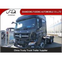 Buy cheap 10 Wheel Tractor Head Trucks 6 X 4 , 4 X 2 , 6 X 6 Drive Type 380 HP from wholesalers