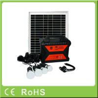 Buy cheap 10W 18V off grid portable with radio mini solar system with mobile charger from wholesalers