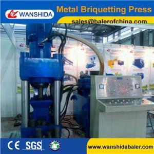 China Y83-5000 Aluminum Sawdust Briquetting Press Machine 30kW PLC Automatic Control on sale