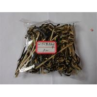 Wholesale 9cm Black Knotted Bamboo Picks Eco-Friendly Bamboo Looped Ring Cocktail Skewer from china suppliers