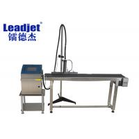 Buy cheap Cable Expiry Date Inkjet Printer , 1-4 Lines Industrial Online Inkjet Printer from wholesalers