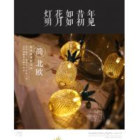 Buy cheap Pineapple String Lights,GIGALUMI 10ft 10 LED Fairy String Lights Battery Operated for Christmas Home Wedding Party from wholesalers