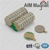 Buy cheap D5 x 4mm rare earth disc magnet /round ndfeb magnet/high quality magnet from wholesalers