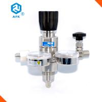 Buy cheap Two Stage Industrial Gas Pressure Regulator , Safety Relief Valve With Gauges from wholesalers