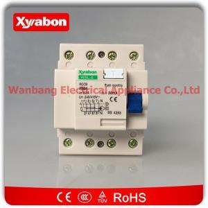 abb residual current circuit breaker (rccb) 4 POLE 63A/30mA F364-63/0.03