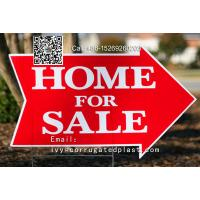 Buy cheap China 4mm 5mm corflute plastic signs/real estate signs/lawn signs/yard signs from wholesalers