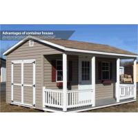 Buy cheap Prefabricated Light Steel Structure House / Cottage , Fireproof and Easy Assemble from wholesalers