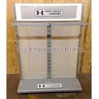 Double Sided Metal Display Stand High End Clothing Rack Display Furniture Manufactures