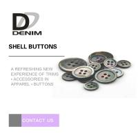 Buy cheap Custom Natural Black Shell Button Butterfly 2 / 4 Holes High-End Buttons Lead - free from wholesalers