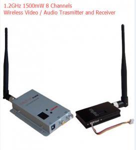 Long Distance CCTV Video Transmitter 1200 Mhz Wireless TV Sender 1500mW