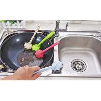Buy cheap Kitchen Cleaning Stainless Steel Scrubber With Handle Demountable Design from wholesalers