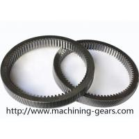 Buy cheap Machinery Parts Steel Internal Gear , Gearbox Parts Large Ring Gear from wholesalers