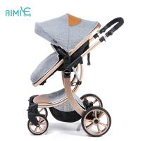 China Aimile unique design good hign end baby stroller made in China on sale