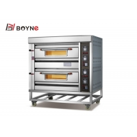 Buy cheap Four Plates 2 Deck 4 Trays Gas Oven For Bakery Bread Shop from wholesalers