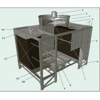 Buy cheap ISO Industrial Water Chiller / Water Cooling Tower 3775mm×2710mm×4950mm from wholesalers