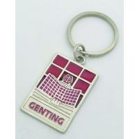 Buy cheap custom souvenir gifts metal keychain for any country city from wholesalers
