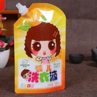 Buy cheap Soft Drink Milk Liquid Spout Bags Gravure Printing Custom Logo With Straw from wholesalers