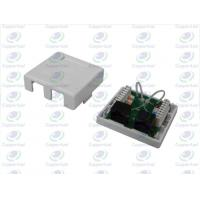 Buy cheap CL-OLUB-02 Gold Plating  Wall Socket 2Port With UTP Cat5e PCB Module from wholesalers