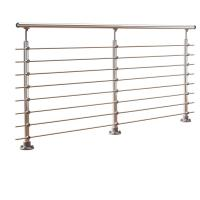 Buy cheap DIY stainless steel balustrade systems with solid rod bar design product