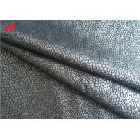 Buy cheap Bronzing Micro Suede Polyester Knitted Fabric Sofa Fabric Upholstery Use from wholesalers