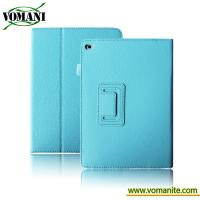 Buy cheap Lichee Pattern Leathe case for ipad Air2. skin cover for tablet PC with stand from wholesalers
