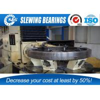 Anti Friction Slewing Ring Bearings Stainless Steel Whole Quench Hardening