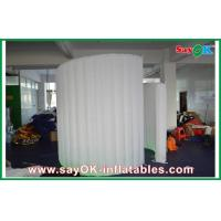 Buy cheap Wind Resistant Inflatable Photo Booth , Lighting Inflatable Spiral Wall from wholesalers