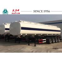 China 4 Axles 50000 Liters Fuel Tanker Trailer,50 Tons Oil TankerTrailer for Sale on sale