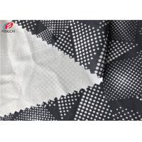 Buy cheap Eco - Friendly Recycled Polyester Lycra Spandex Fabric Printed For Sports Wear from wholesalers