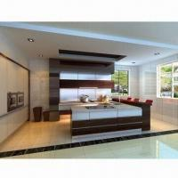 Buy cheap Kitchen Cabinet, Customized Designs are Accepted, Made of 100% Real Wood from wholesalers