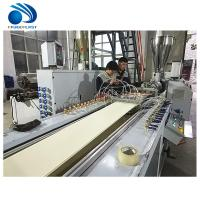 China Panel Making Plastic Profile Production Line , Ceiling Pvc Window Profile Extrusion Line on sale
