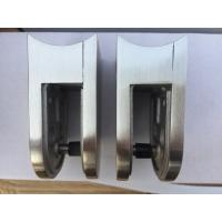 Buy cheap 55*55mm  Mirror Stainless Steel Glass Clamps from wholesalers