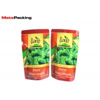 Buy cheap Aluminum Foil Stand Up Fresh Vegetable Plastic Packaging Bags For Green Pepper from wholesalers