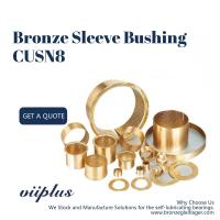 Buy cheap Lubrication Pockets Wrapped Bronze Bearings CuSn8 CW453K 092 Easy Assembly from wholesalers