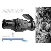 Buy cheap 50mm Lens Lightweight Thermal Clip ON 1500mDetection Range Military Use from wholesalers