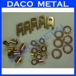 Buy cheap custom OEM custom OEM brass bronze copper metal stamping punching pressing parts from wholesalers