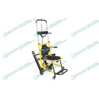 Mobile emergency ambulance chairs for stairs evacuation with two folded handles Manufactures