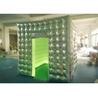 Wholesale Silver Oxford Portable Photo Booth Logo Printed OEM / OEDM Accepted from china suppliers