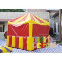 Buy cheap Promotional Party Inflatable Tents Inflatable Candy Popcorn Selling Booth For Advertisement from wholesalers