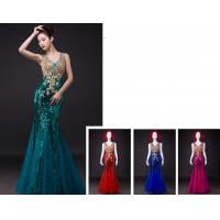 Fashion V Neckline Open back party dresses for wedding / business LXLSQ-1260 Manufactures