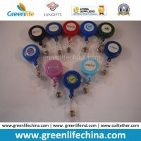 Buy cheap Custom Logo Office ID Pull Reel Promotional Yoyo Retractor from wholesalers
