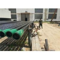 Wholesale Thickness Wall Carbon Steel Pipes And Tubes SCH 40 With Plastic / Steel Ring from china suppliers