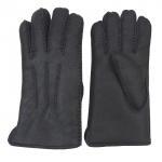 Buy cheap Winter Gents Sheepskin Gloves , Hand Sewing Warmest Sheepskin Gloves from wholesalers
