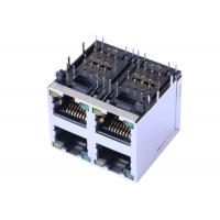 Buy cheap ARJM22A1-811-AB-CW2 2X2 Stacked Rj45 Connectors With 5G 8P8C Shielded from wholesalers
