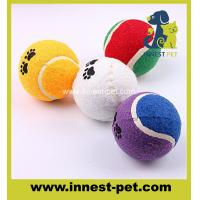 Buy cheap custom LOGO dog tennis ball for pets product