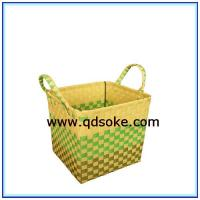 Buy cheap Hand Woven PP Storage Basket PP Picnic Basket from wholesalers
