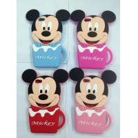 Wholesale Mickey Minnie Disney cartoon mug silicone mobile phone sets from china suppliers
