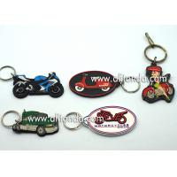 Wholesale Car motorcycle exhibition promotional gifts promotional key chains soft pvc key rings custom car series keychain supply from china suppliers