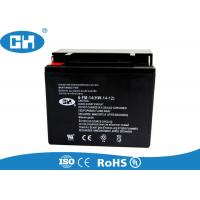Buy cheap AGM Seperator Rechargeable Motorcycle Battery ABS Container MF 12v 14ah Battery from wholesalers